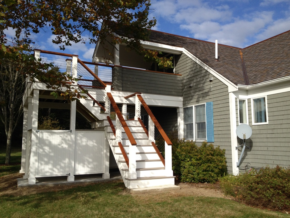 Decks Porches Flooring Cape Cod Roof