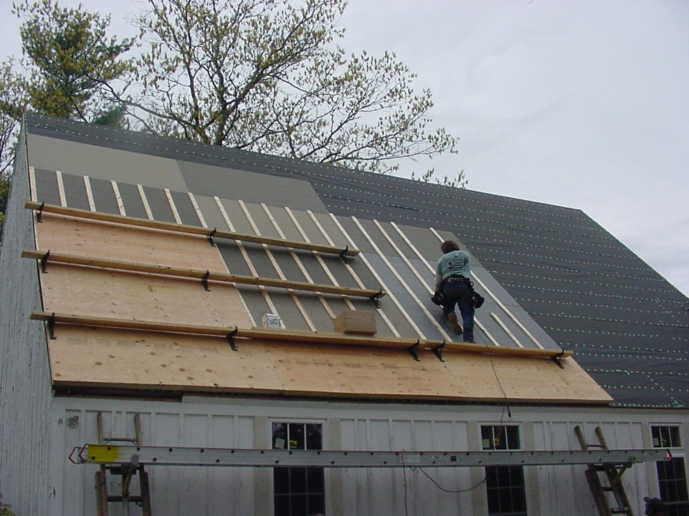 Post Amp Beam Fake Roofs Sip Panels Cape Cod Roof