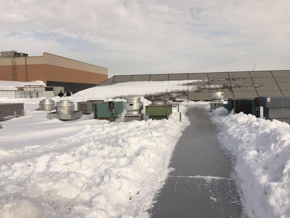 Snow Removal Cape Cod Roof